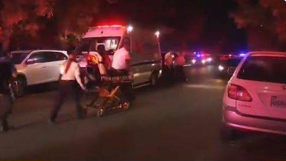 Foto: Imagen del despliegue de emergencias tras el tiroteo.