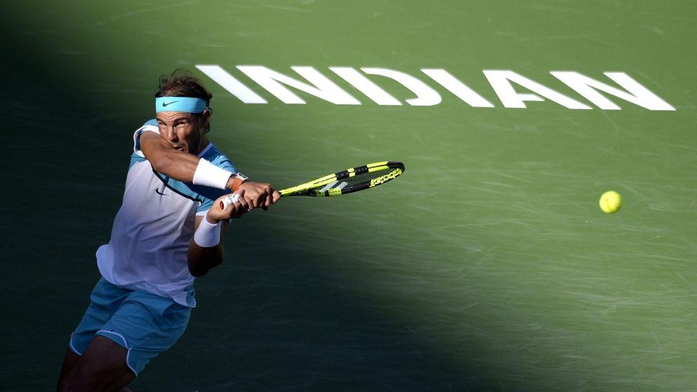 Nadal convence ante Nishikori y se mete en las semifinales de Indian Wells