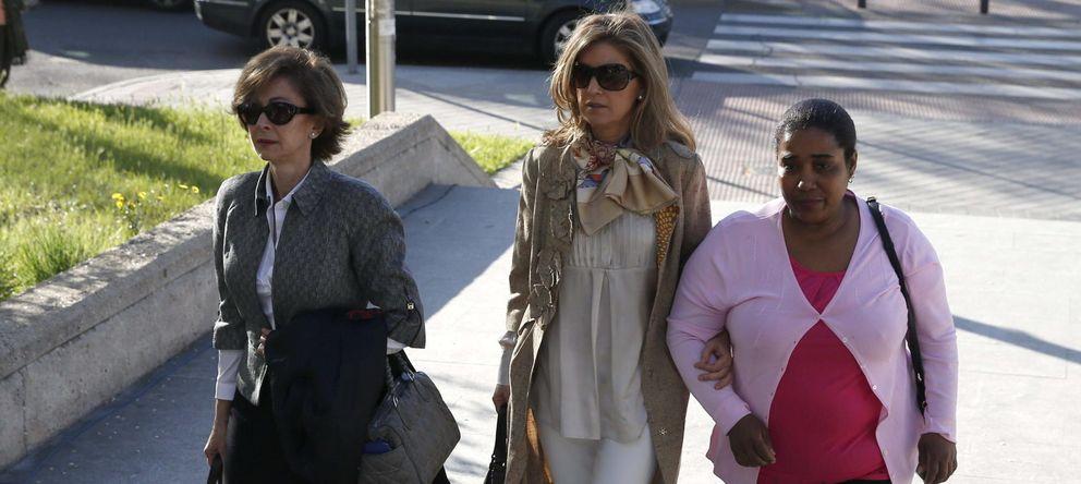 Foto: Rosalía Iglesias, esposa del extesorero del PP Luis Bárcenas (Efe)
