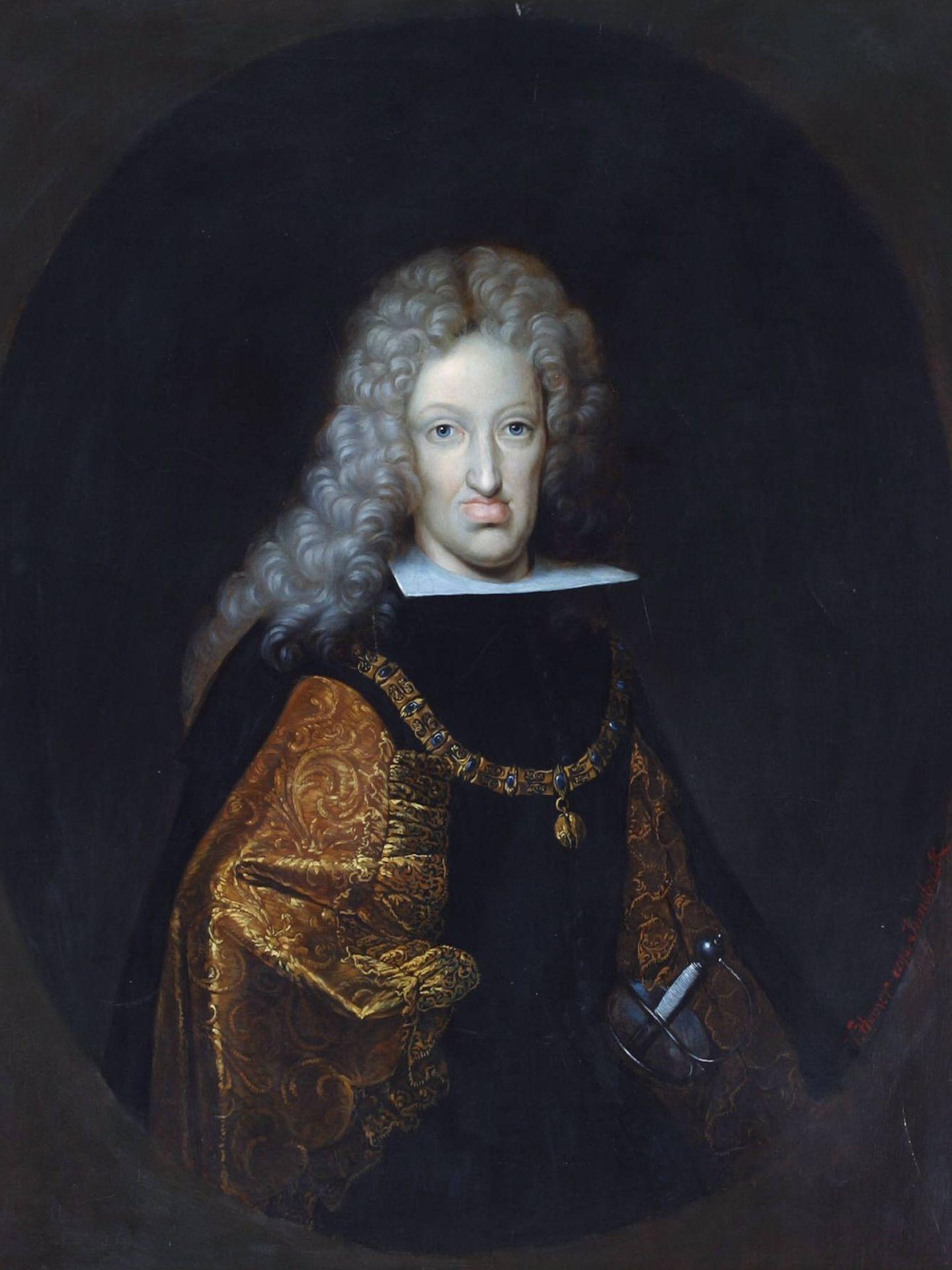 Retrato del rey Carlos II, por Wilhelm Humer
