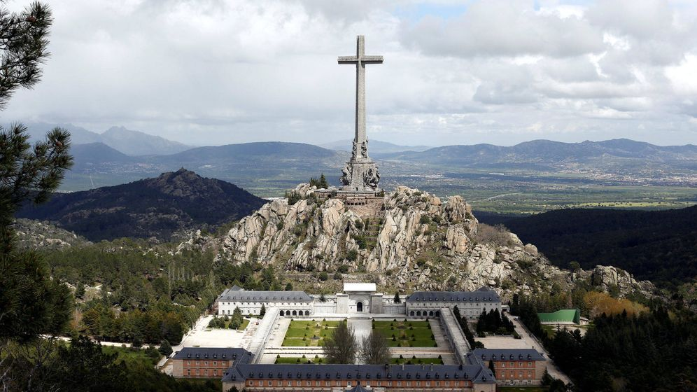 Foto: Vista general del Valle de los Caídos. (Reuters)