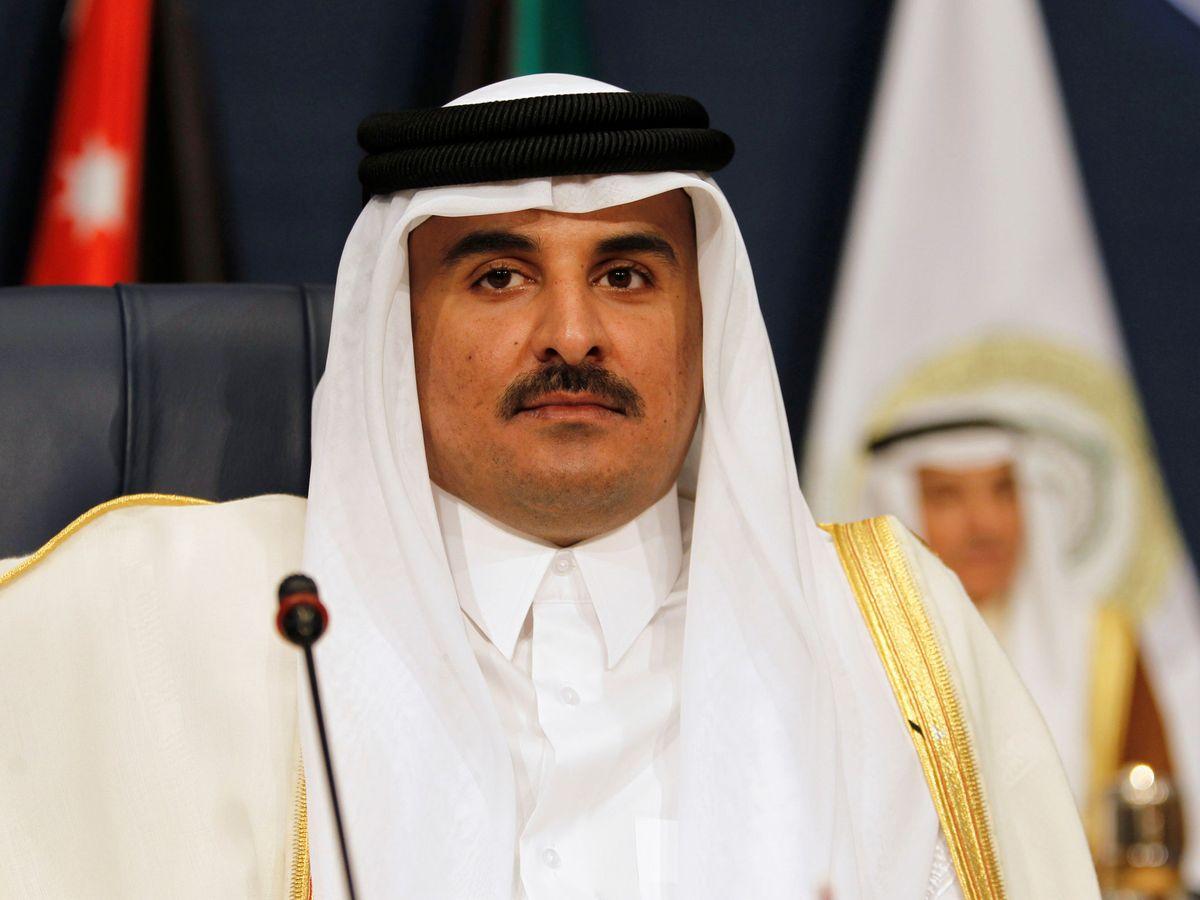 Foto: El emir de Catar, Tamim bin Hamad Al Zani. (Reuters)