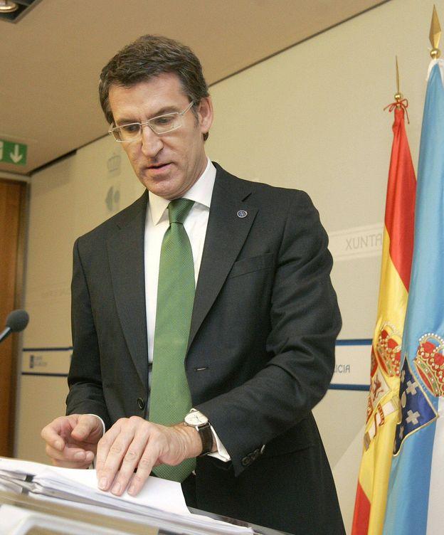Foto: El presidente de la Xunta, Alberto Núñez Feijoo. (EFE)
