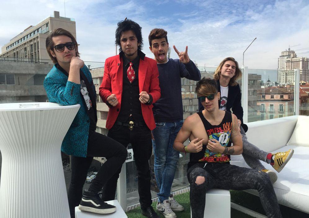 Foto: Los integrantes de Bromas Aparte (P. Campos)