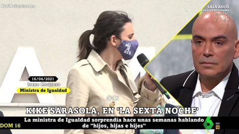 El alegato de Kike Sarasola contra el lenguaje inclusivo de Irene Montero
