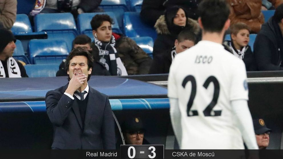 Los males de Solari y su Real Madrid ante el CSKA que debe corregir (como Keylor Navas)