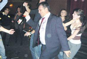 Laporta celebró a lo grande la victoria en el 'Clásico'