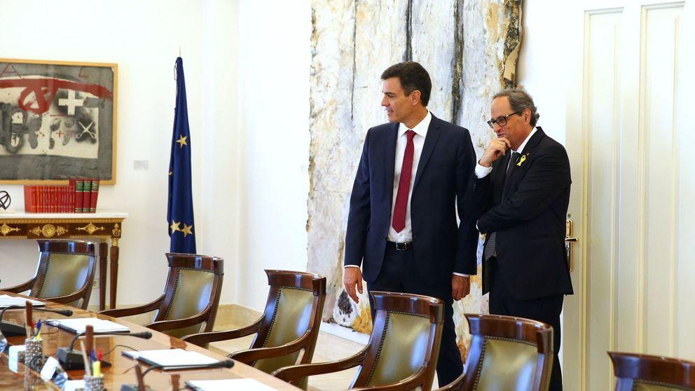 Torra invita por carta a Sánchez para hablar de Cataluña y el Gobierno no acepta