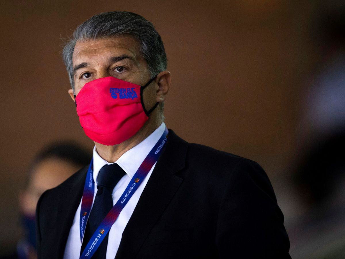 Foto: Joan Laporta, presidente del Barcelona. (Efe)