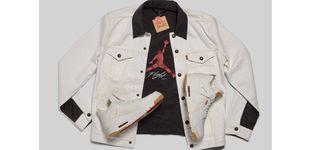 Post de La última colaboración de Levi's con Air Jordan es revesible