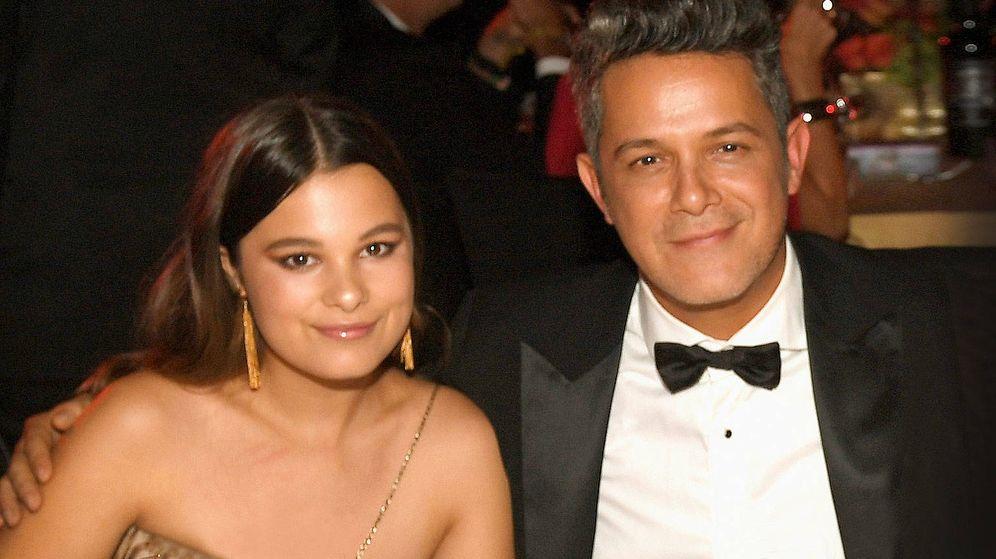 Foto: Alejandro junto a su hija Manuela. (Getty)