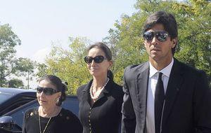 Chábeli y Enrique Iglesias, las dos ausencias más sonadas en el funeral