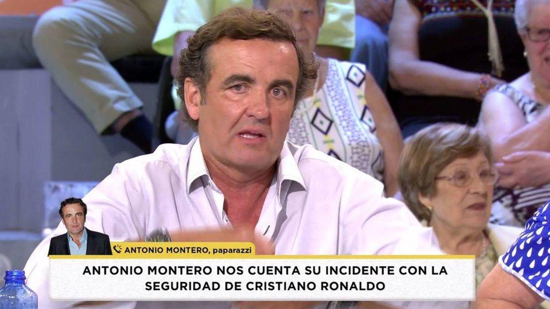 Antonio Montero en conexión telefónica con 'Socialité'.