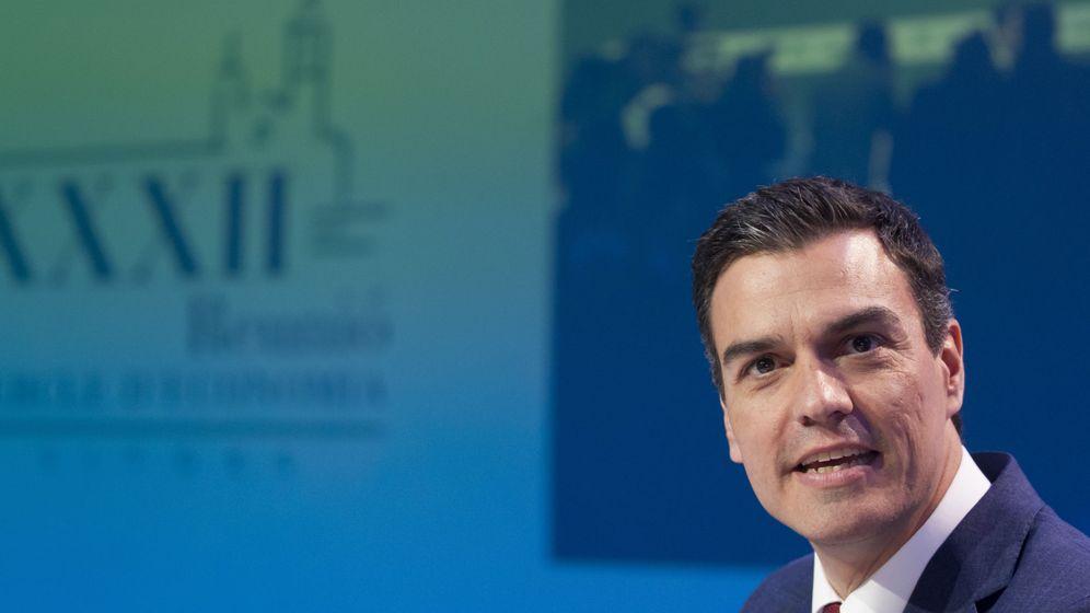 Foto: Pedro Sánchez, este 27 de mayo en la segunda sesión de la XXXII Reunión del Cercle d'Economia de Sitges, Barcelona. (EFE)