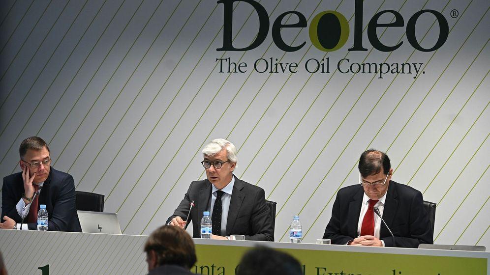 Foto: Junta extraordinaria de accionistas de Deoleo (Efe)