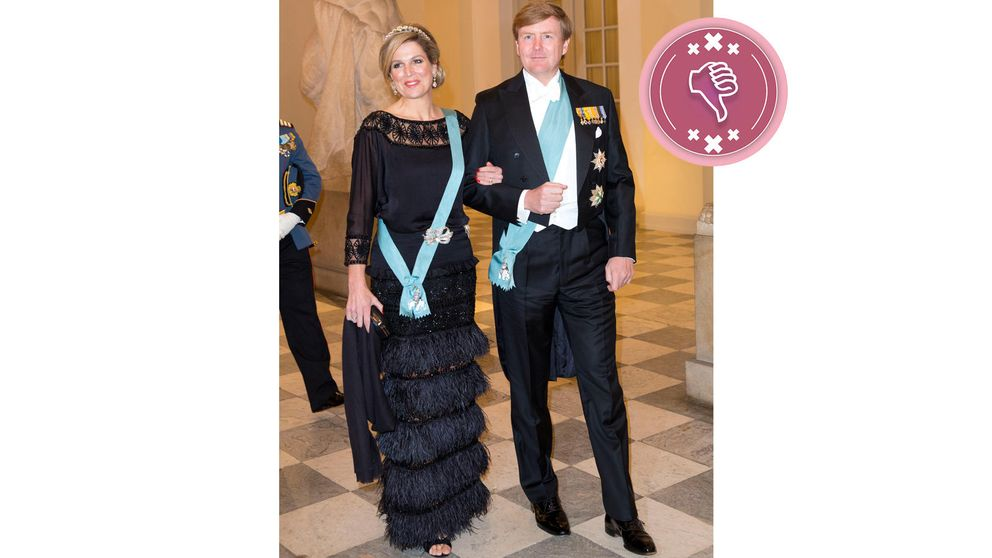 Las mejor y peor vestidas de la cena de celebración del 75 cumpleaños de Margarita de Dinamarca