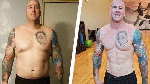El truco de este bombero que le permitió perder 35 kilos en poco tiempo