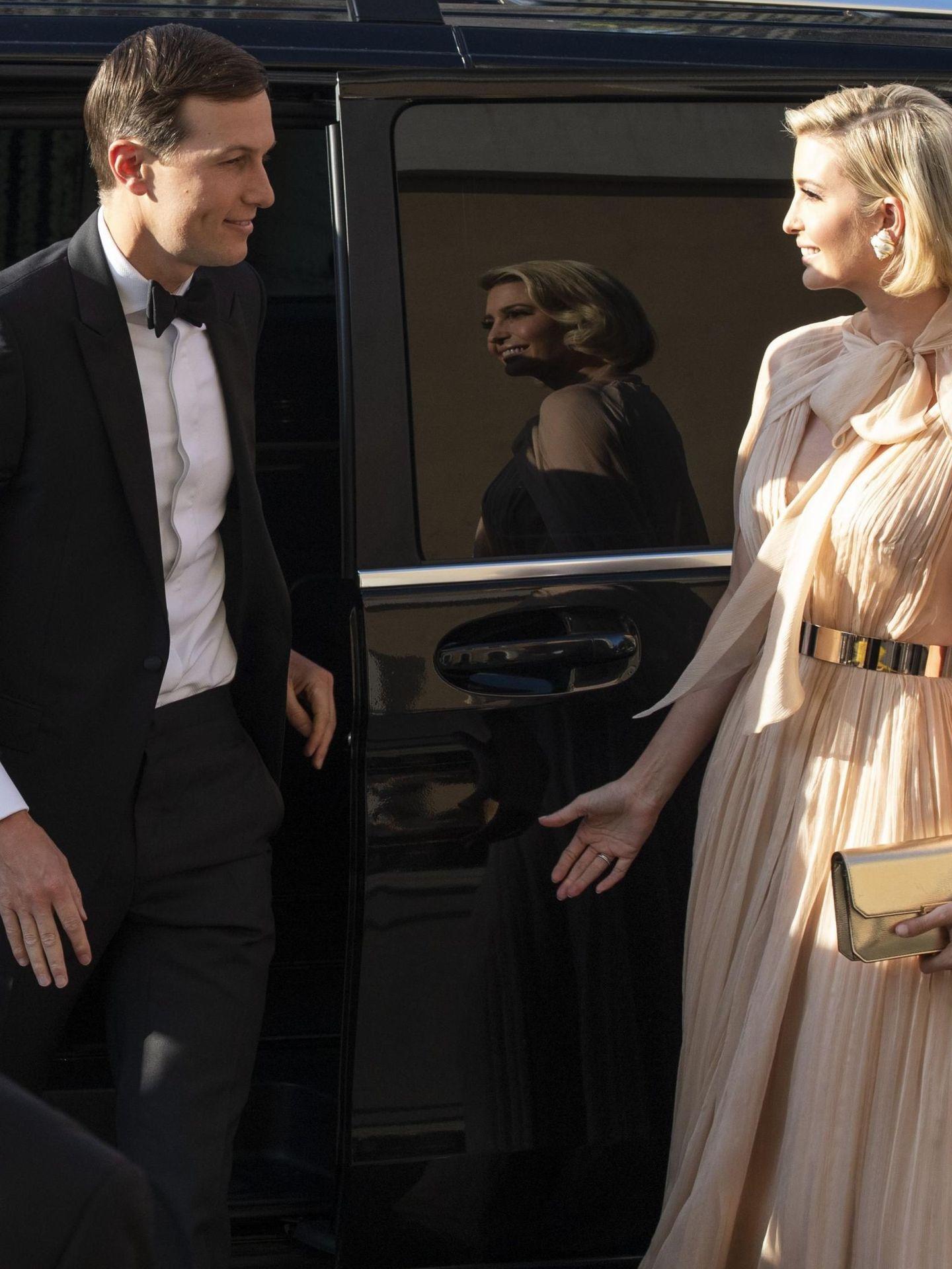 Ivanka y su marido, en la boda. (EFE)