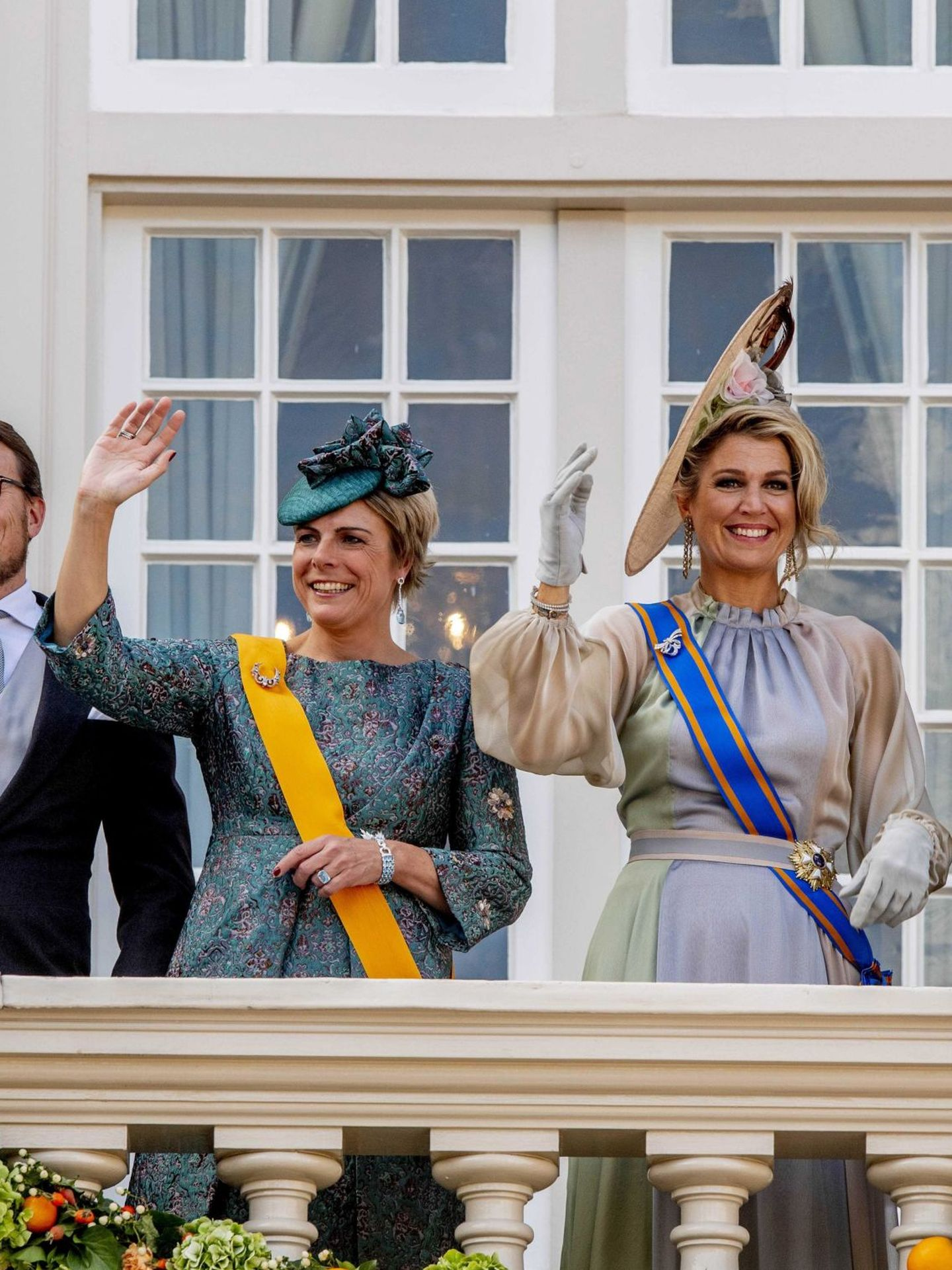 El príncipe Constantino y la princesa Laurentien, en una imagen de archivo. (EFE)