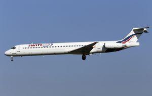 Localizan en Mali desintegrado el avión estrellado de Swiftair