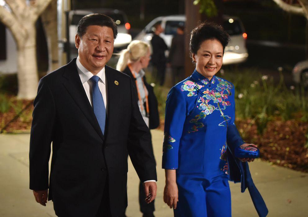 Foto: Xi Jinping y Peng Liyuan, el pasado 15 de noviembre en Australia (Gtres)