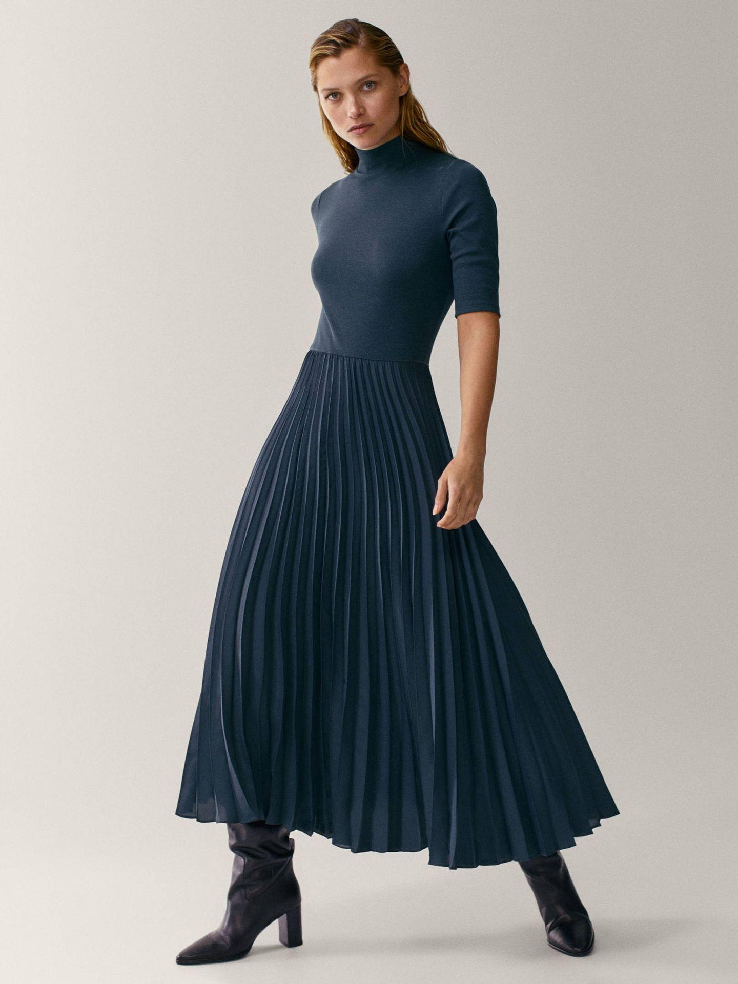 Renueva tus vestidos con Massimo Dutti. (Cortesía)