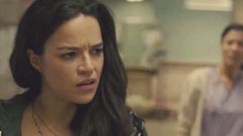 Michelle Rodríguez en una escena eliminada de la película 'Furious 7'