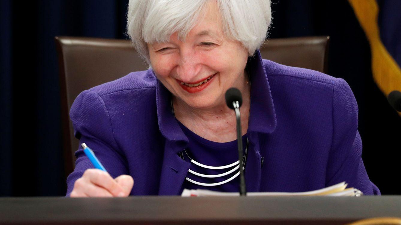 Foto: Janet Yellen, hasta hoy presidenta de la Fed (Reuters)