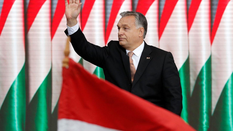 Abascal asegura que Viktor Orban, el primer ministro que está llevando a Hungría hacia el autoritarismo, es su referencia (REUTERS)