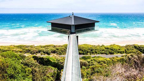 Vivir sobre un poste: The Pole House, la casa más exótica de Australia