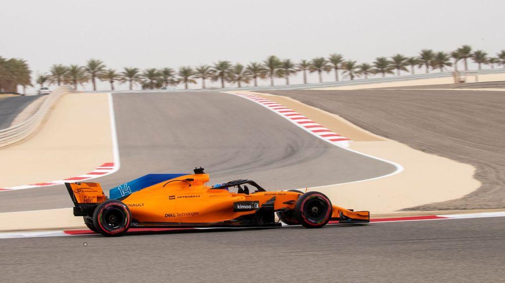 Foto: Fernando Alonso aspira a meterse en la Q3 en Bahrein, algo que no consiguió en Australia. (EFE)
