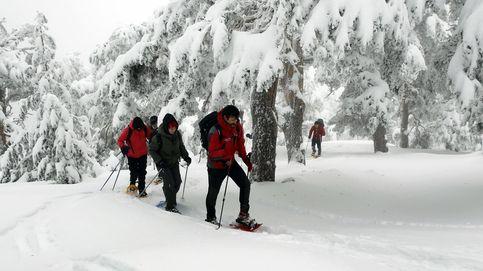 Atención, montañeros y esquiadores: peligro de aludes en la Sierra de Guadarrama