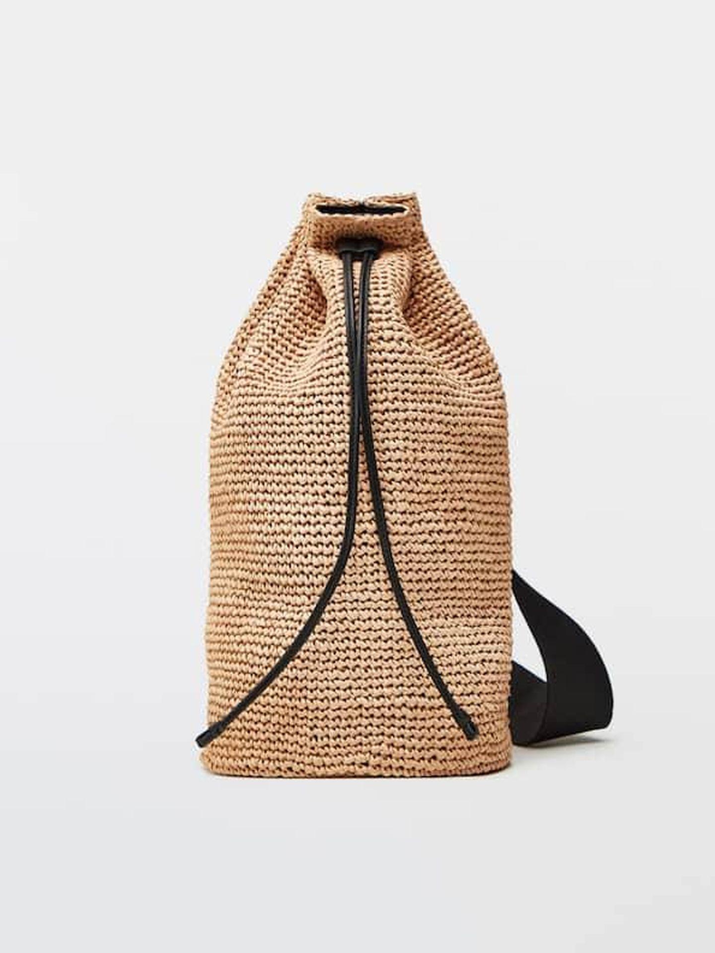 Bolsa macuto de Massimo Dutti. (Cortesía)