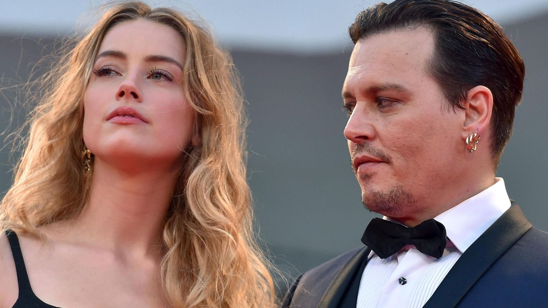 Amber Head y Johnny Depp (Efe)