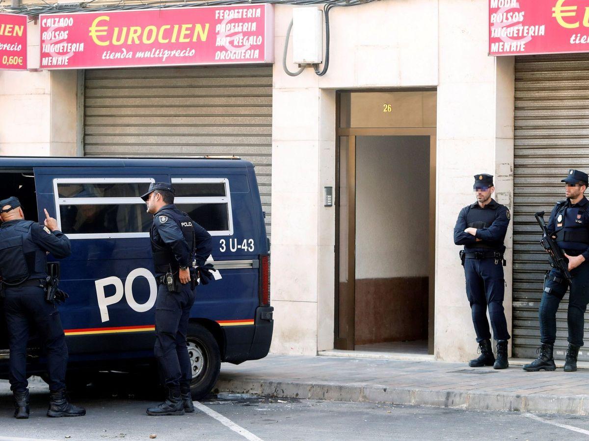 Foto: Policía Nacional, en una foto de archivo. (EFE)