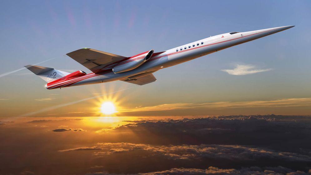 Foto: Simulación del futuro AS2 de Aerion y Boeing. (Aerion)