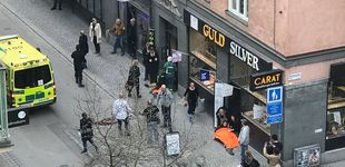 Post de Atentado en Estocolmo: al menos dos muertos en un ataque con camión