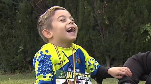 Las lecciones de un niño de seis años con parálisis cerebral