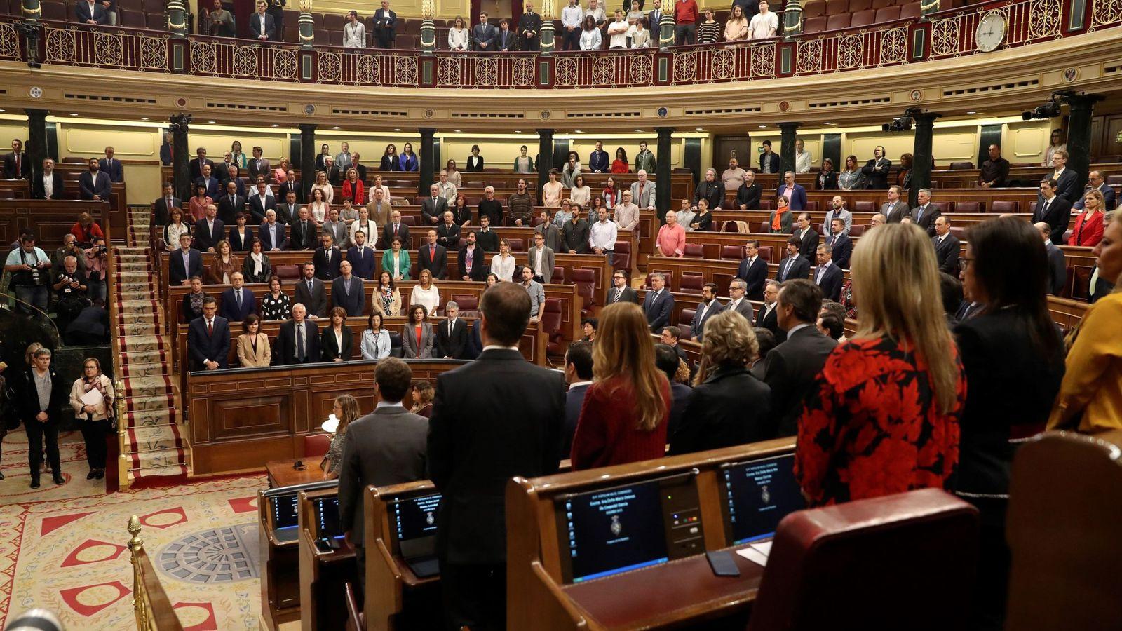 Foto: El pleno del Congreso de los Diputados. (EFE)