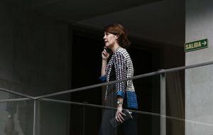 Barcina no creyó el órdago del PSN tras una filtración y llamarla Rajoy