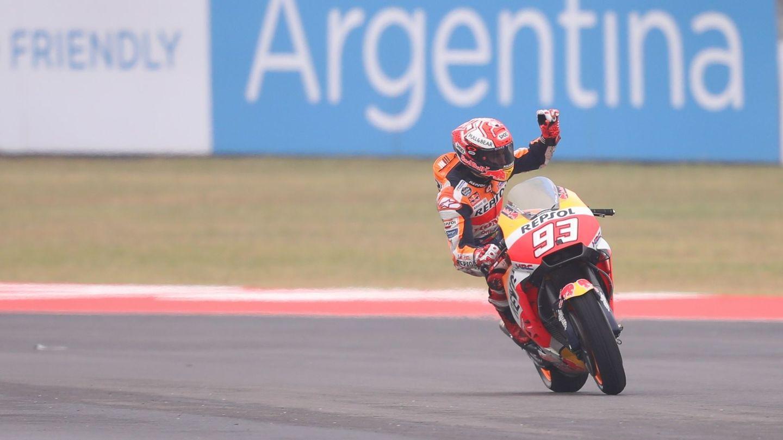 Marc Márquez ocupará el sexto lugar en la parrilla de salida en el GP de Argentina. (EFE)