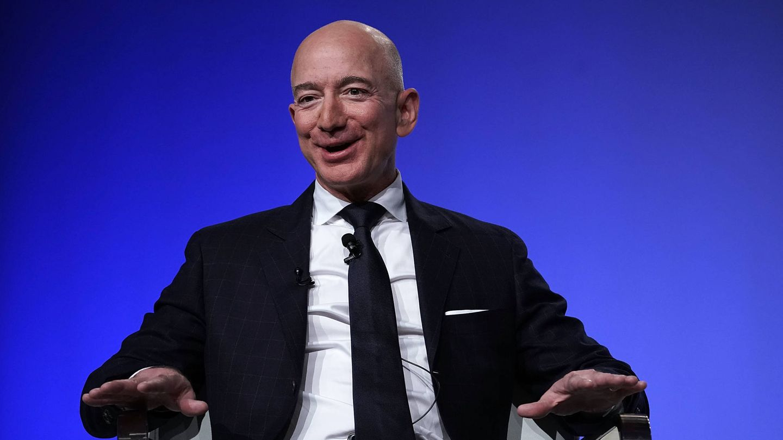 Jeff Bezos. (Getty)