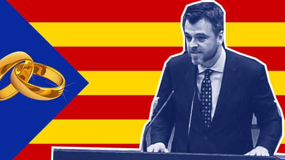 El independentismo catalán se va de boda en el Montseny