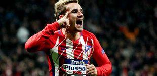 Post de Griezmann abandona el lado oscuro y el Atlético se agarra a la Champions League
