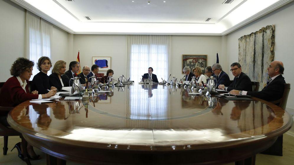 Foto: Reunión del Consejo de Ministros.  EFE Juan Carlos Hidalgo ---POOL---