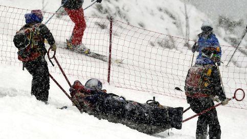 Lindsey Vonn sufre una fractura en una caída, pero no descarta competir