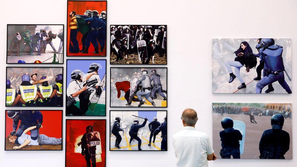 Sexo y esteladas en la Marina: pulso entre arte y corrección política en Valencia