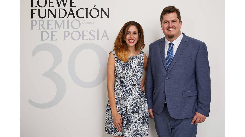 Foto: Luciana Reif y Ben Clark, ganadores del Premio.