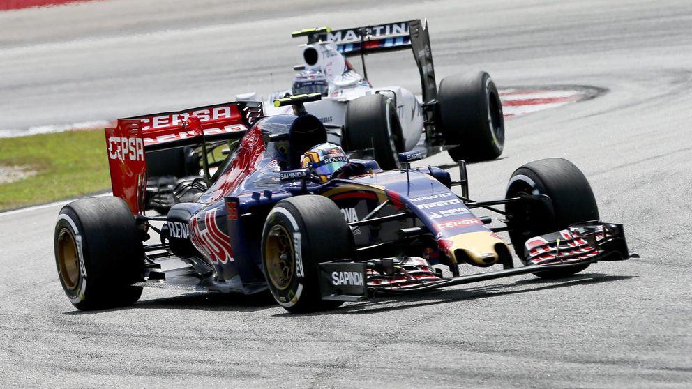 Carlos Sainz y Max Verstappen sacan los colores a Red Bull