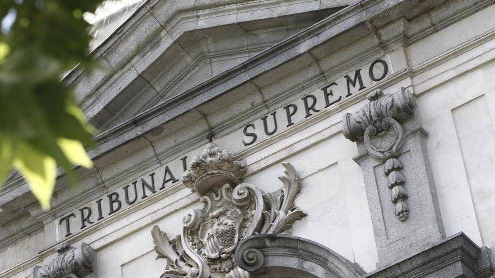 Foto: Imagen de archivo de la fachada del Tribunal Supremo. (EFE)